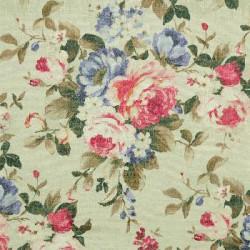 meubelstof met bloempatroon