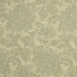 meubelstof met ingeweven floraal patroon
