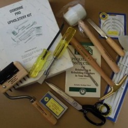 uitgebreide luxe kit stoffeergereedschap / PRO UPHOLSTERY KIT