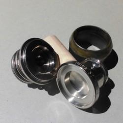 Knopendruk mal voor stof (Cutter) 22mm.