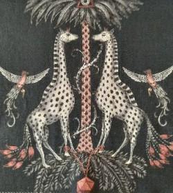 Creatura Charcoal Linnen