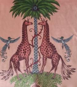 Creatura pink fluweel/velvet