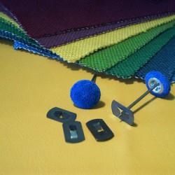 spijkerknoop kartel op bestelling incl achterplaatje met uw stof