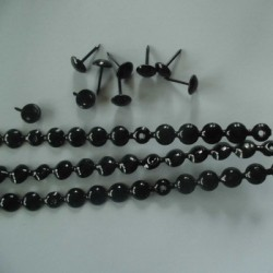 Nagelstrip zwart 9,5mm.