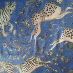 Protea Blue fluweel/velvet