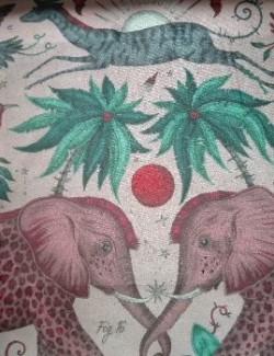 Zambezi pink fluweel/velvet