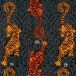 Tigris Flame Velvet