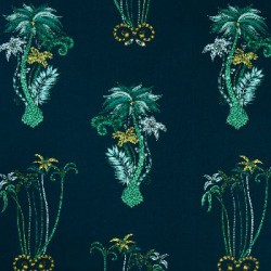 Jungle Palms Navy