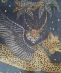 Lynx Charcoal  fluweel/velvet