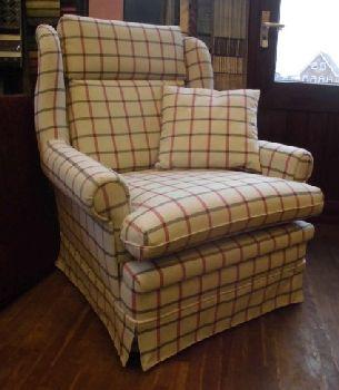 fauteuil bekleden